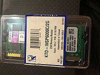 Память So-dimm Kingston 2Gb  PC2-6400S  DDR2-800 KTD