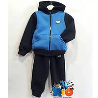 94bec221 Спортивный костюм c капюшоном, из трикотажа на флисе, для мальчика от 116  до 140