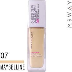 Maybelline - Тональный крем стойкий Super Stay 24H Тон 07 слоновая кость 30ml