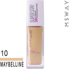 Maybelline - Тональный крем стойкий Super Stay 24H Тон 10 матово бежевый 30ml