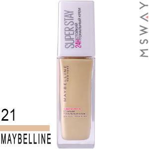 Maybelline - Тональный крем стойкий Super Stay 24H Тон 21 нюдово бежевый 30ml, фото 2