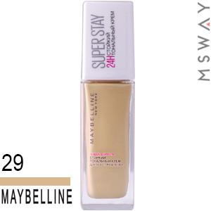 Maybelline - Тональный крем стойкий Super Stay 24H Тон 29 классический бежевый 30ml