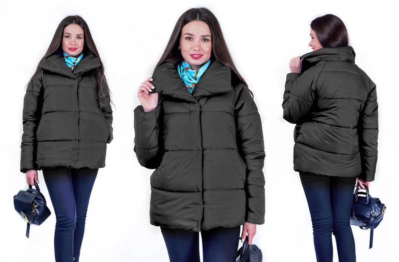 Куртка Nikki жіноча зимова на пуговках, фото 2