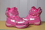 Ботиночки зимние на девочку 30 р розовые арт 086789, фото 2