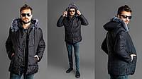 Мужская теплая куртка - пальто  РО1101, фото 1