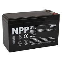 Аккумуляторная батарея NPP 12V 7 AH (NP12-7) AGM грн