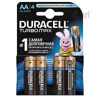 Батарейка Duracell LR6 Turbo(3+1) AA (4шт)