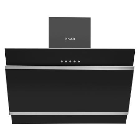 Кухонная вытяжка Perfelli DN 6672 А 1000 BL/I LED наклонная