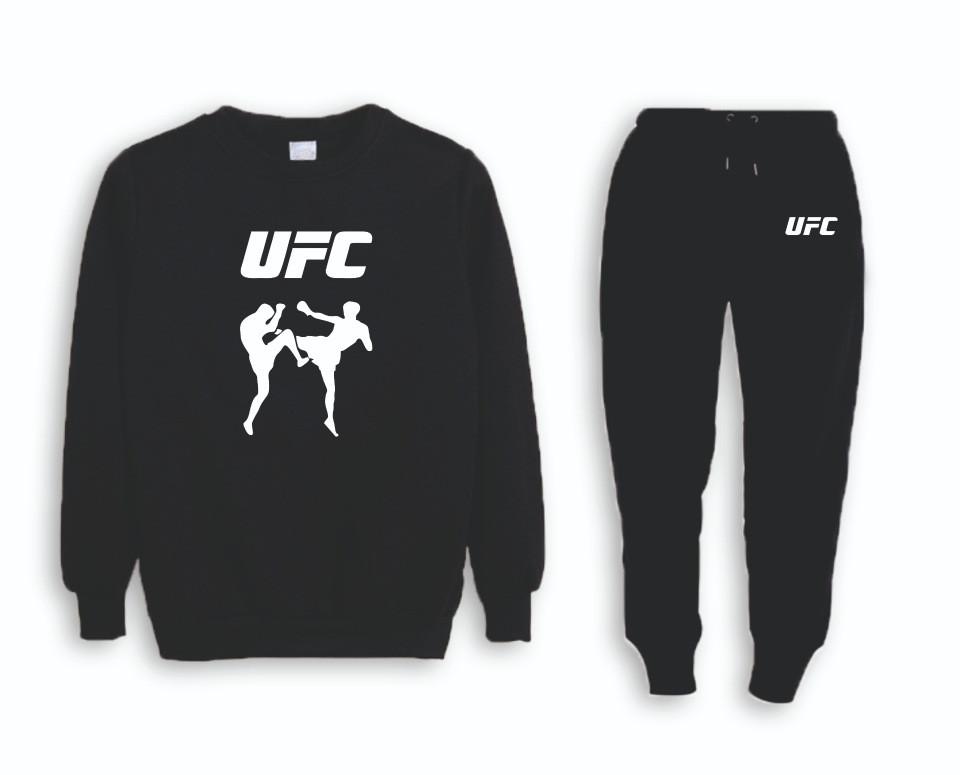 Летний мужской спортивный костюм для тренировок UFC (ЮФС)