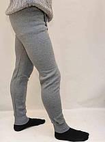 Підштаники чоловічі на флісі в світло-сірому кольорі M - XXXL, фото 2