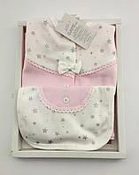Набор для новорожденных Gaye Bebe 0-4 месяцев 5 предметов 62 см 40р розовый