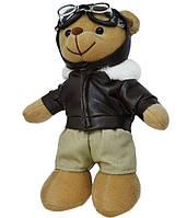 Ведмедик плюшевий Teddy Пілот 20 см, фото 1