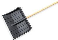 Лопата пластмассовая 420*320мм с черенком