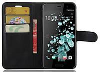 Чехол книжка для HTC U Play Черный