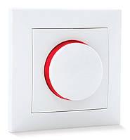 Светорегулятор SVEN Comfort SE-60038C с подсветкой скрытого типа белый