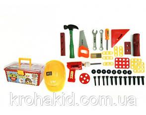 Игровой набор инструментов 2058 / чемодан с инструментами (41 предмет), фото 2