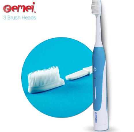 Электро зубная щетка Gemei. аккумуляторная