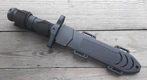 Нож армейский охотничий тактический Columbia USA Спецназ 1388А +пластиковый чехол, фото 2