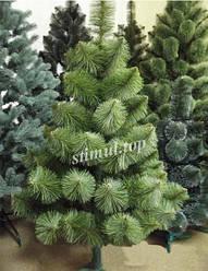 Сосна искусственная елка 1.3 м новогодняя пушистая (130 см)