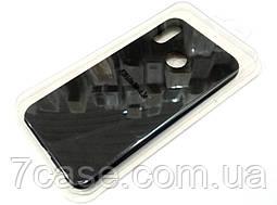 Чехол для Huawei P20 Lite силиконовый Molan Cano Jelly Case матовый черный