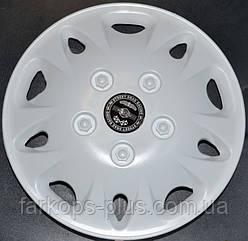 Колпаки на колеса диски для дисков R 12 Мекадор белые