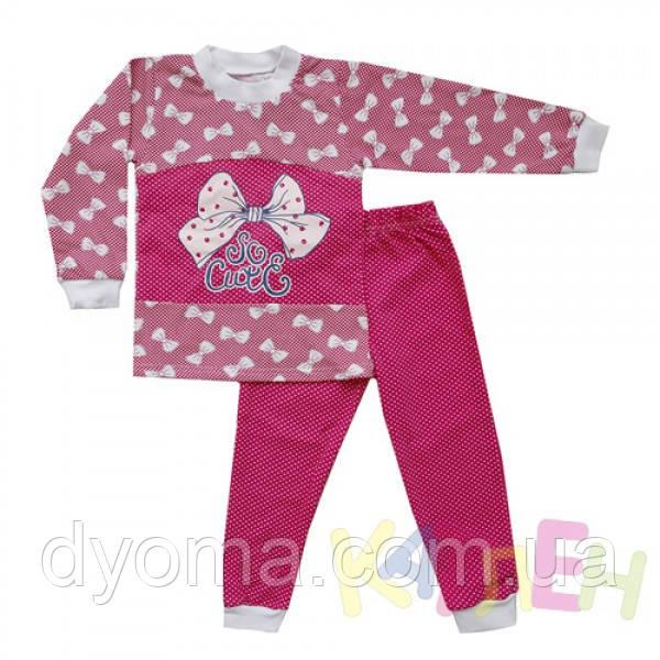 """Детская теплая пижама """"Слоник"""" для девочек"""