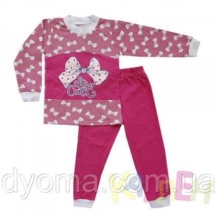 """Детская теплая пижама """"Слоник"""" для девочек, фото 2"""