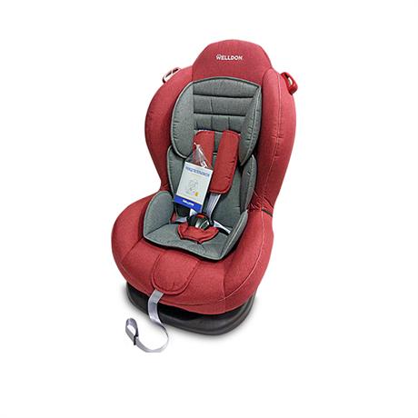 Детское автокресло Welldon Smart Sport (красный/серый) BS02N-S95-003