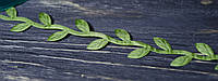 Декоративная лента  листья плюща 1,5 см