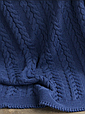 Покривало 220x240 BETIRES BREMEN NAVY BLUE (100% акрил), фото 4
