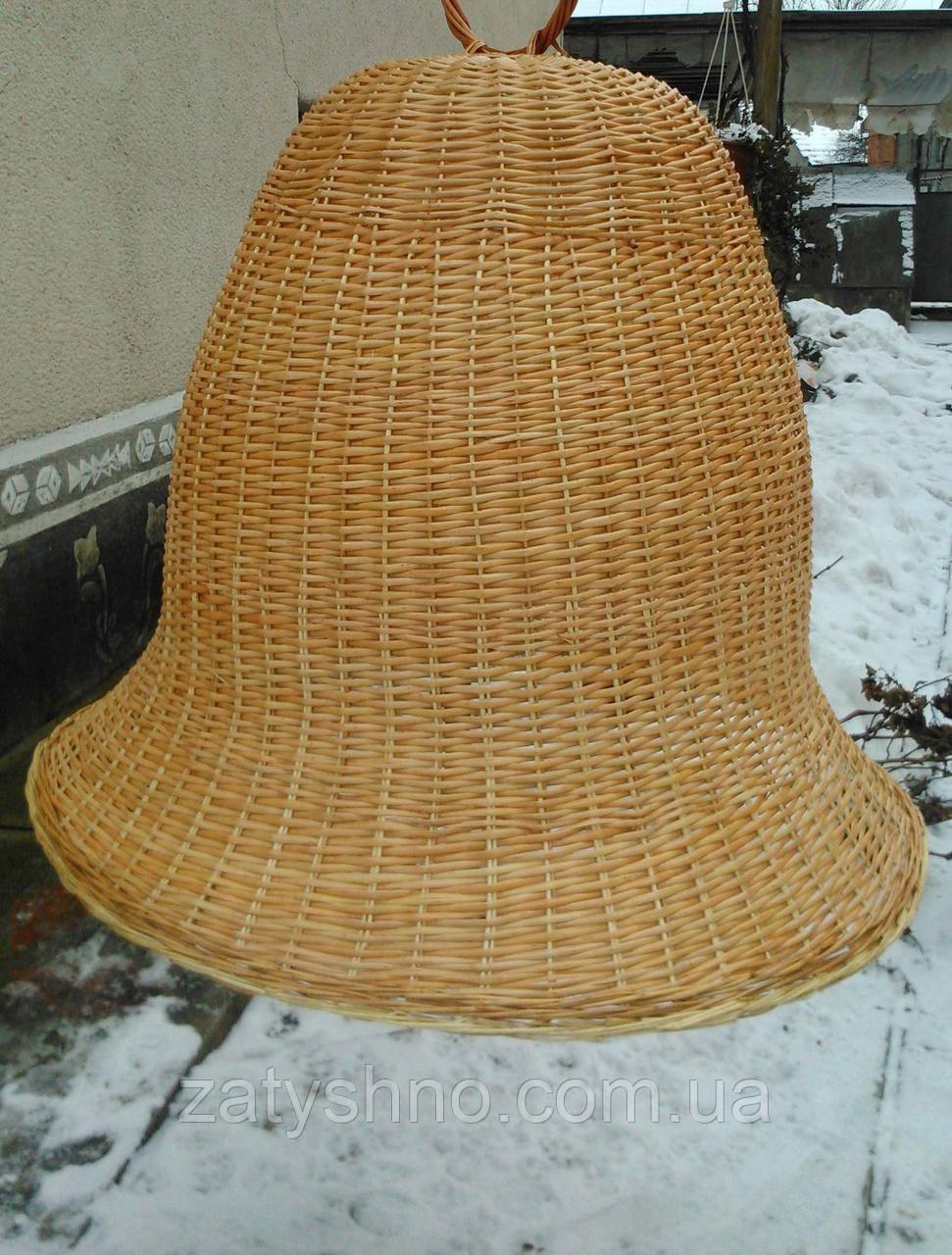 Плетеная бра в форме колокол