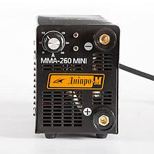 Сварочный инвертор IGBT Дніпро-М MINI 260, фото 2