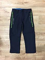 Лижні штани утеплені для хлопчиків оптом, F&D, рр 116-146, фото 2