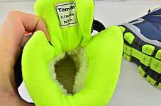 Термо Ботинки детские зимние с мехом  из эко-кожи на мальчика  , фото 2