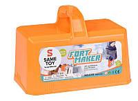 Игровой набор 2 в 1 Same Toy Snow Fort Maker Orange (618Ut-2)