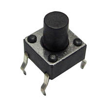 Кнопка тактовая 4-pin 4,5 X 4,5 X 6 мм. 1шт.