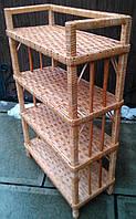 Стеллаж плетеный на 5 полок, фото 1