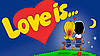 "Картинка вафельная А4 ""Love is"""