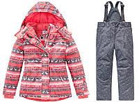 Зимний термокомбинезон Topolinoдля девочки 98см и 110 см  раздельный