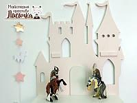"""Полиця """"Замок"""" для книг в дитячу"""