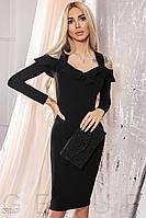Вечернее  платье с оборками 29041, фото 1