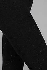 Женские лосины сверкающие с добавлением люрекса, фото 2