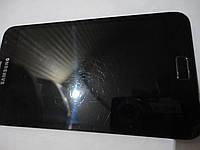 Дисплей для мобильных телефонов Samsung Galaxy Note, N7000 Note, черный б.у. , с сенсорным экраном