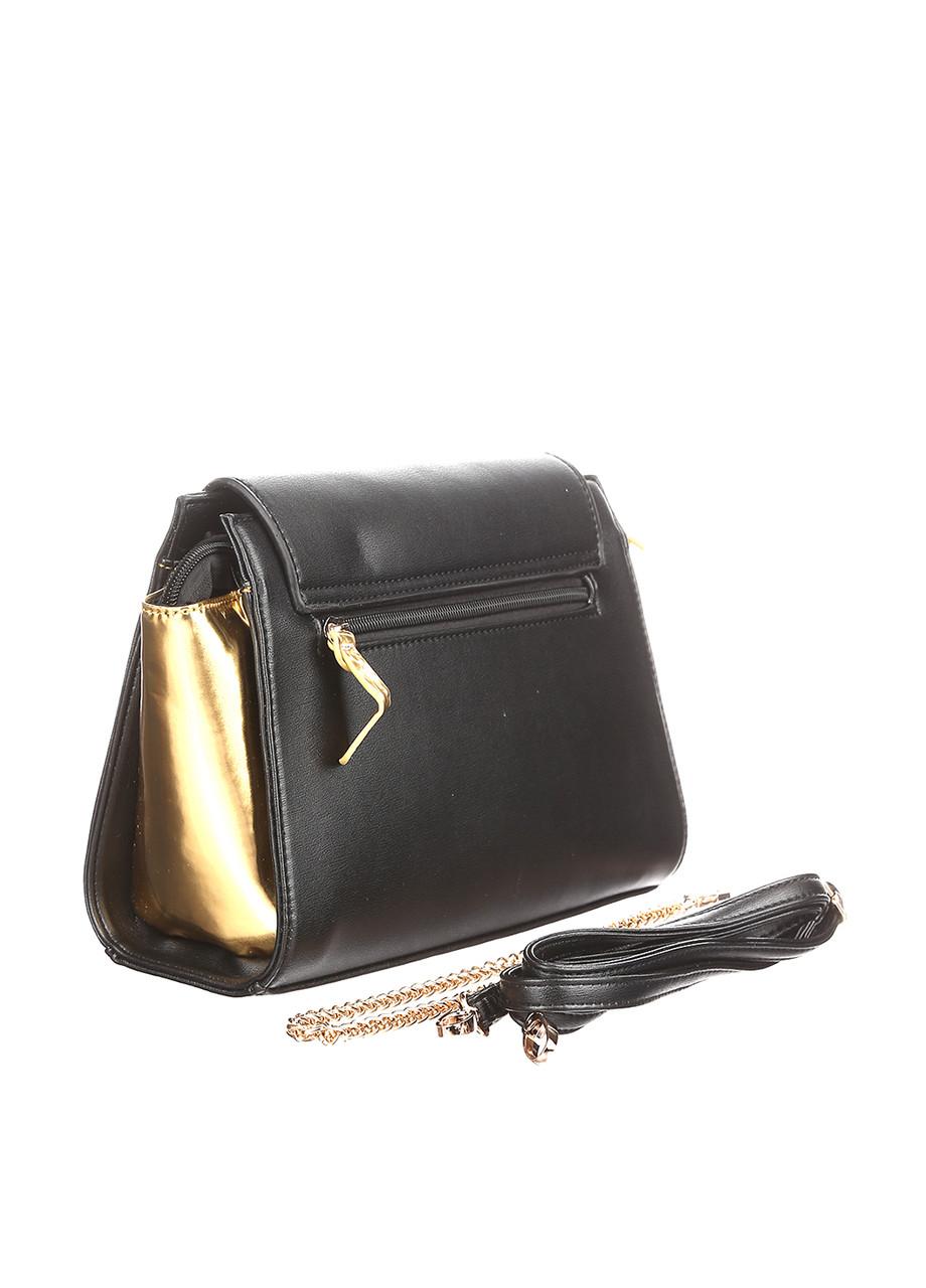 Сумка женская BULAGGI цвет черно-золотой размер - арт 29427.70