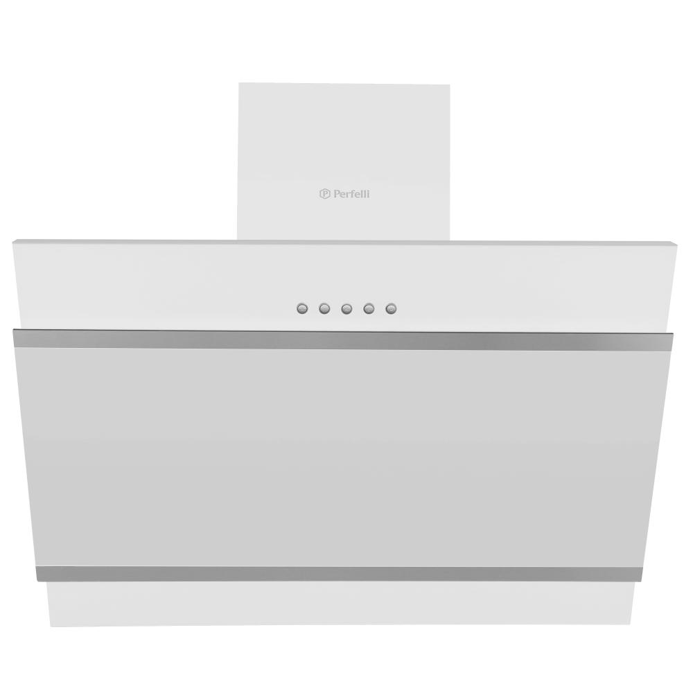 Кухонная вытяжка Perfelli DN 6672 А 1000 W/I LED наклонная