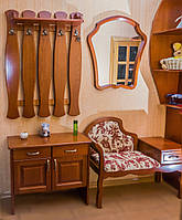 """Элитная деревянная прихожая """"Фиона"""". Мебель для прихожей из дерева."""