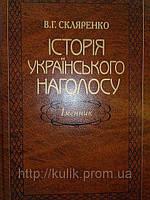 Історія українського наголосу. Іменник