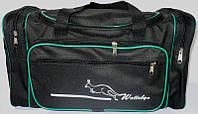 Дорожная сумка Wallaby (черный), средняя, 059198, фото 1
