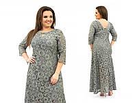 Женское вечернее платье №237 (р.52-60) в расцветках, фото 1