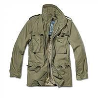 Куртка М65 Classic Brandit Vintage с подстежкой олива